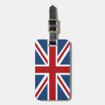Union Jack British Flag Luggage Tag