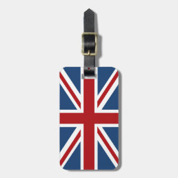 Union Jack British Flag Luggage Tag