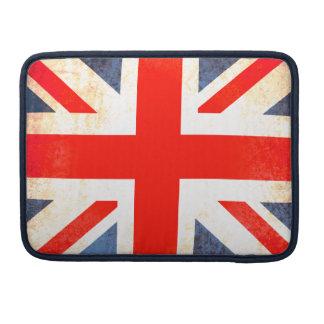 Union Jack British flag MacBook flap case