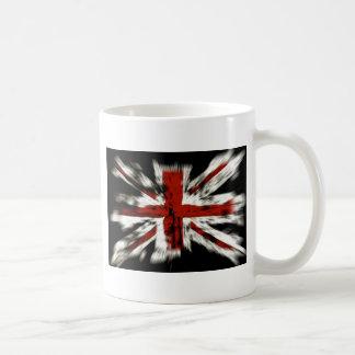 Union Jack British Flag Classic White Coffee Mug