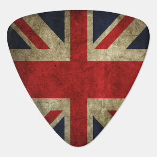 Union Jack British Flag Of England Rock and Roll Pick