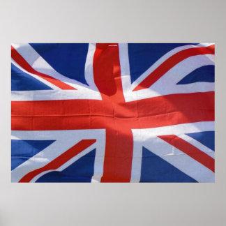 Union Jack, British Flag Patriotic Image Poster
