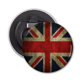 Union Jack British Flag Pop Ale Beer Bottle Opener