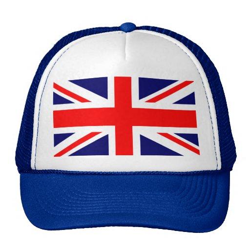 Union Jack British Flag Trucker Hat