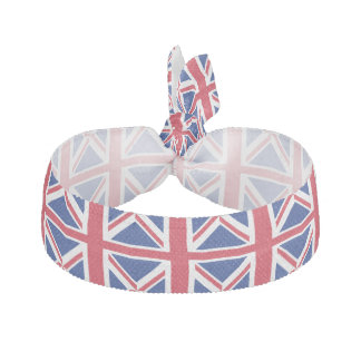 Union Jack British UK Flag Hair Tie