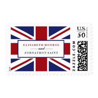 Union Jack British Wedding Postage