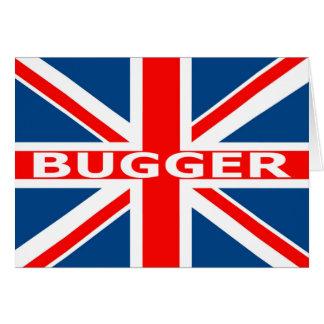 Union Jack bugger Card