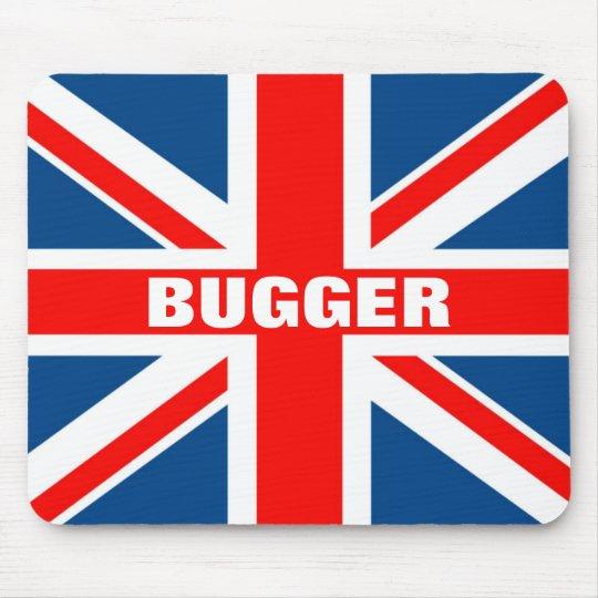 Union Jack bugger Mouse Pad