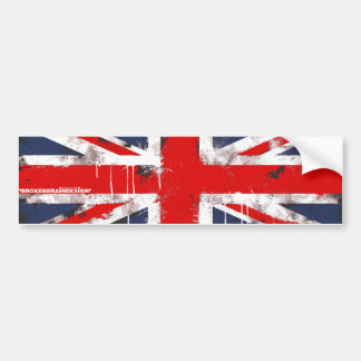Union Jack - Bumper Sticker
