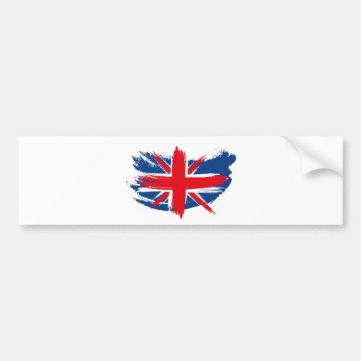 Union Jack Bumper Stickers