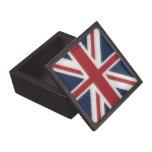 Union Jack Caja De Joyas De Calidad