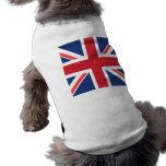 Union Jack Camisa De Mascota