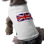 Union Jack Camiseta De Perrito