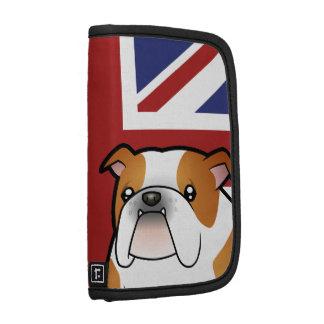Union Jack Cartoon English Bulldog Planner