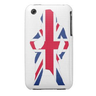 Union jack Case-Mate iPhone 3 cases