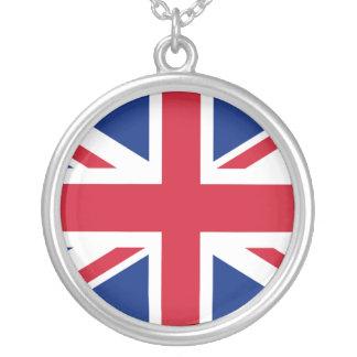 Union Jack Charm Necklace