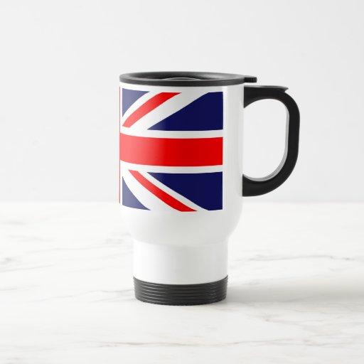Union Jack clásico Taza Térmica