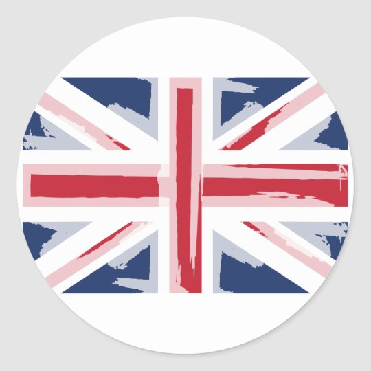 UNION_JACK CLASSIC ROUND STICKER