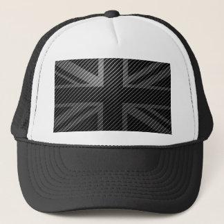Union Jack coal to fiber flag Trucker Hat