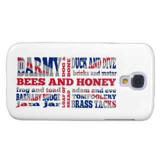 Union Jack, cockney rhyming slang Galaxy S4 Case