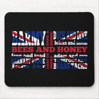 Union Jack, cockney rhyming slang Mouse Pad