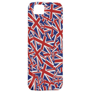 Union Jack Collage iPhone 5 Cover