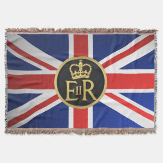 Union Jack combined with the Royal Jubilee Throw