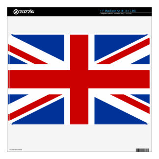 Union Jack Computer Skin Decals For MacBook