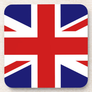 Union Jack Cork Coaster Set