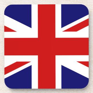 Union Jack Cork Coaster Set
