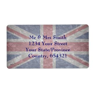 Union Jack - Crinkled Label