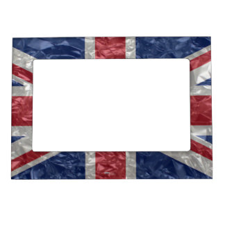 Union Jack - Crinkled Magnetic Photo Frame