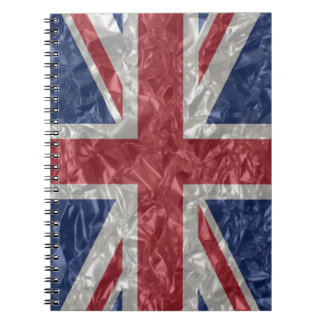 Union Jack - Crinkled Note Book