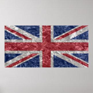 Union Jack - Crinkled Poster