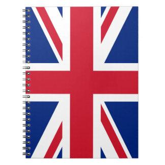 Union Jack Spiral Notebooks