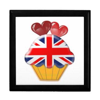 Union Jack Cupcake Art Gift Box
