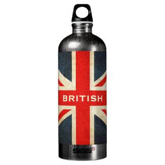 Union Jack Custom Workout Bottle SIGG Traveler 1.0L Water Bottle