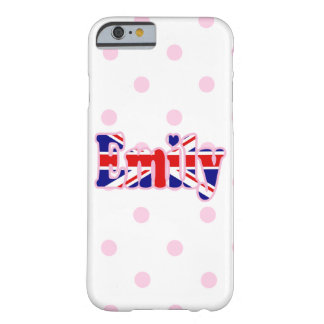Union Jack cutout Emily Barely There iPhone 6 Case