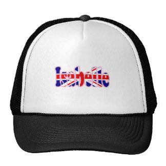 Union Jack cutout Isabelle Trucker Hat