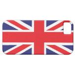 Union Jack de Gran Bretaña iPhone 5 Case-Mate Protector