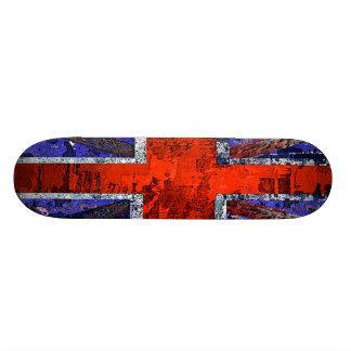 Union Jack design by SK8 CRIME Skateboard Deck
