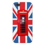 Union Jack/diseño de la caja de la bandera y del t iPhone 5 Funda