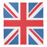 Union Jack/diseño del cuadrado de la bandera Bandana