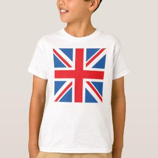Union Jack/diseño del cuadrado de la bandera Playera