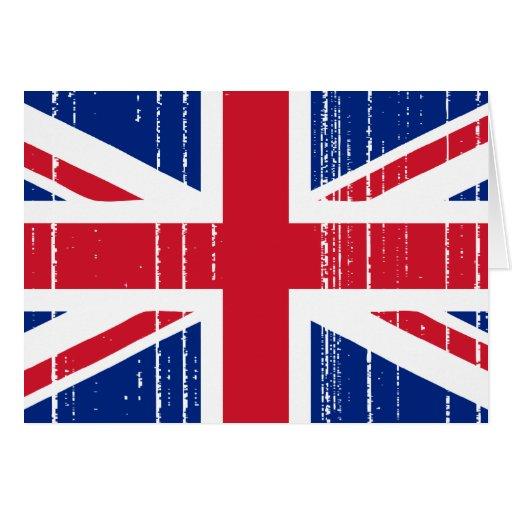 Union Jack_Distressed Card