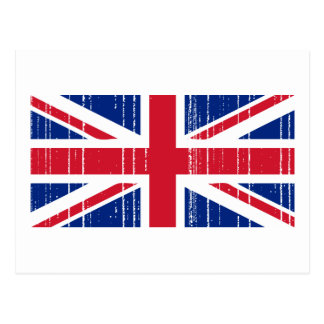 Union Jack_Distressed Postcard
