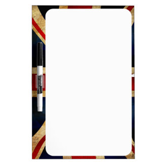 Union Jack Dry Erase Board