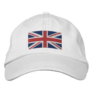 Union Jack Embroidered Baseball Hat