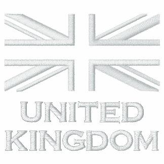 Union Jack Embroidered Track Jacket