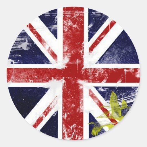 Union Jack Etiqueta